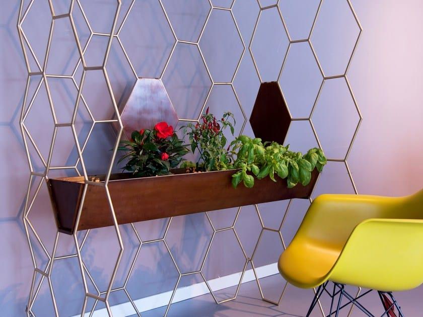 Divisorio / appendiabiti FAVO A PAVIMENTO by Lamberti Design
