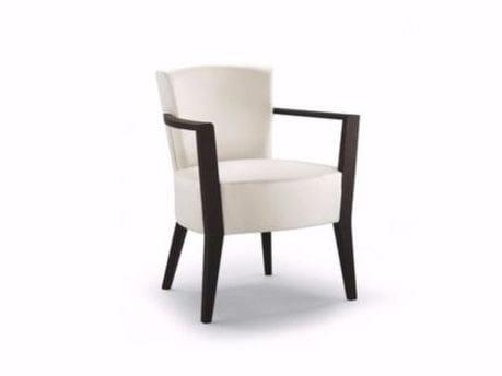 Sedia in tessuto con braccioli FRECH | Sedia con braccioli by Cizeta