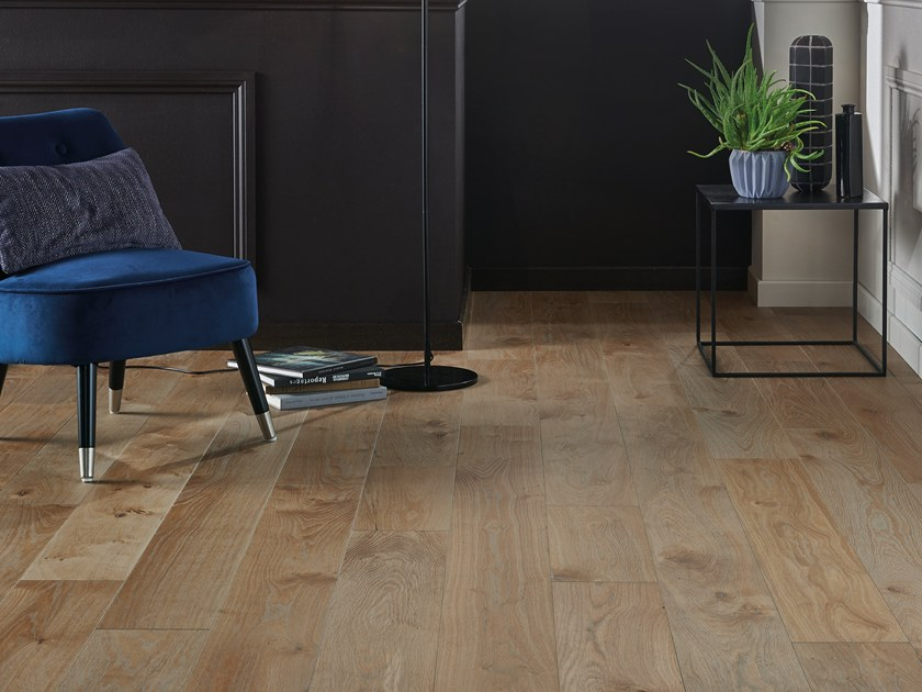 Engineered wood floor FRENCH OAK AUTHENTIC FLANELLE DIVA 184 by PANAGET