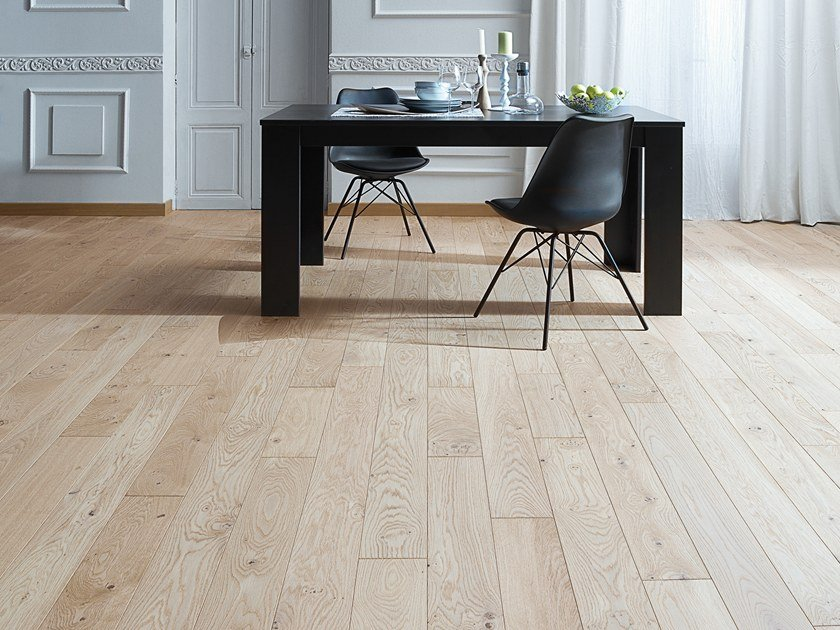 Engineered wood floor FRENCH OAK AUTHENTIC LINEN DIVA 139 by PANAGET