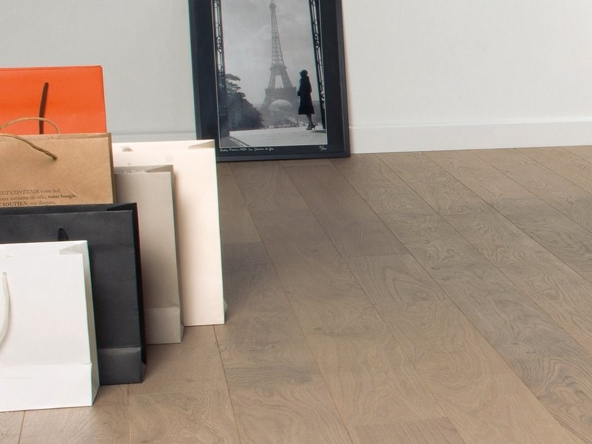 Engineered wood floor FRENCH OAK AUTHENTIC RAFIA DIVA 139 by PANAGET