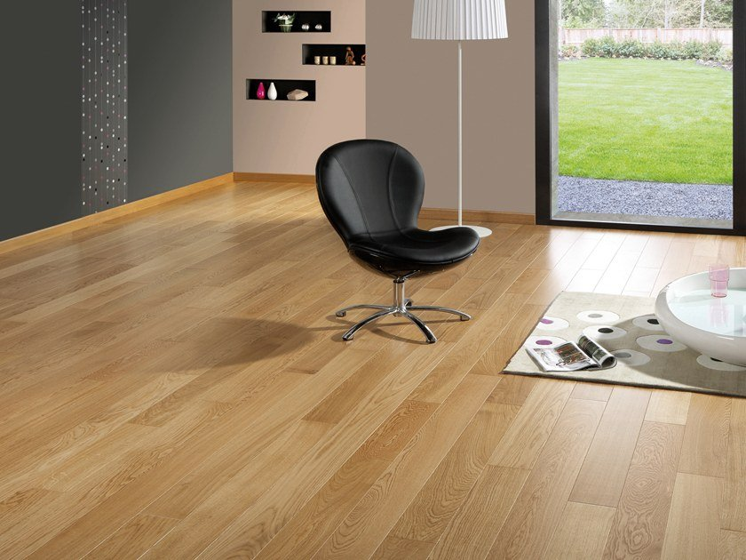 Engineered wood floor FRENCH OAK CLASSIC SATIN DIVA 90 by PANAGET