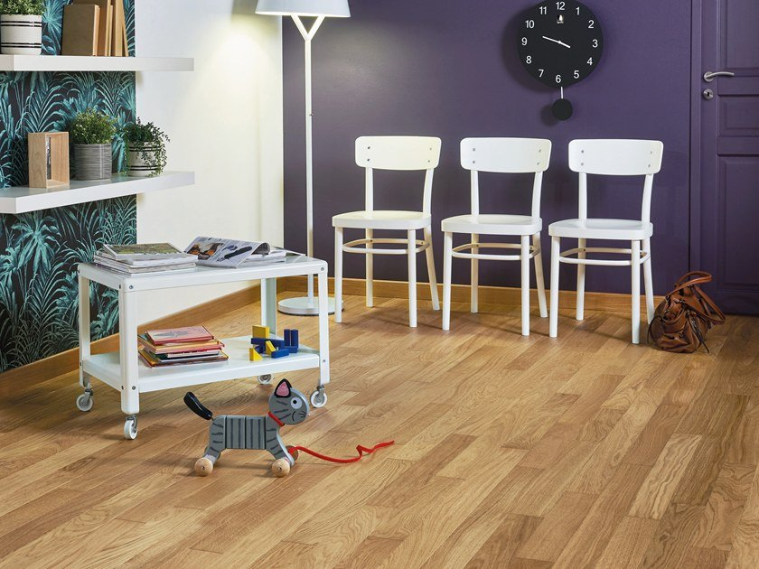 Engineered wood floor FRENCH OAK CLASSIC TOPAZE DIVA 90 by PANAGET