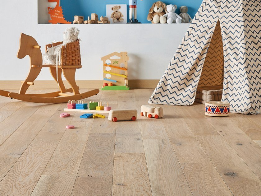 Engineered wood floor FRENCH OAK MIX LINEN 139 PLANK by PANAGET