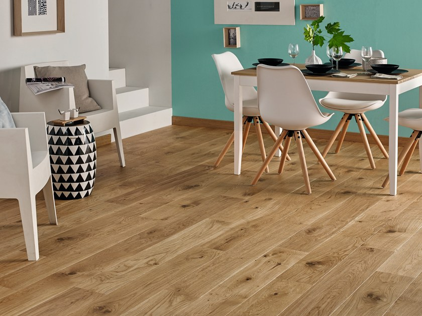 Engineered wood floor FRENCH OAK MIX TOPAZE 184 PLANK by PANAGET
