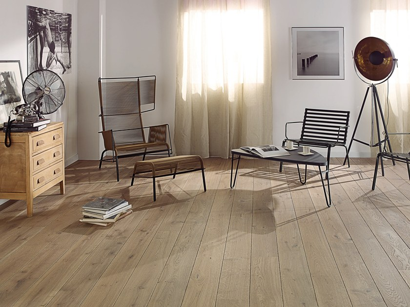 Engineered wood floor FRENCH OAK ORIGINE RAFIA DIVA 184 by PANAGET