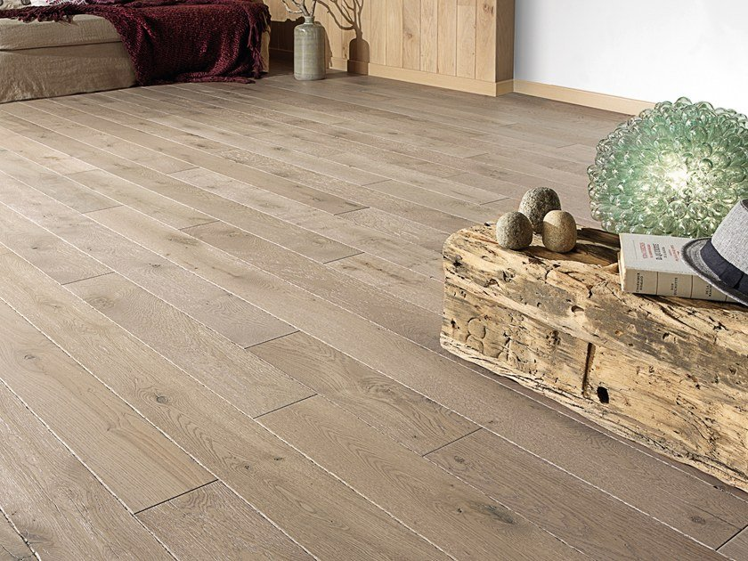 Solid wood floor FRENCH OAK ORIGINE RAFIA SONATE 140 by PANAGET