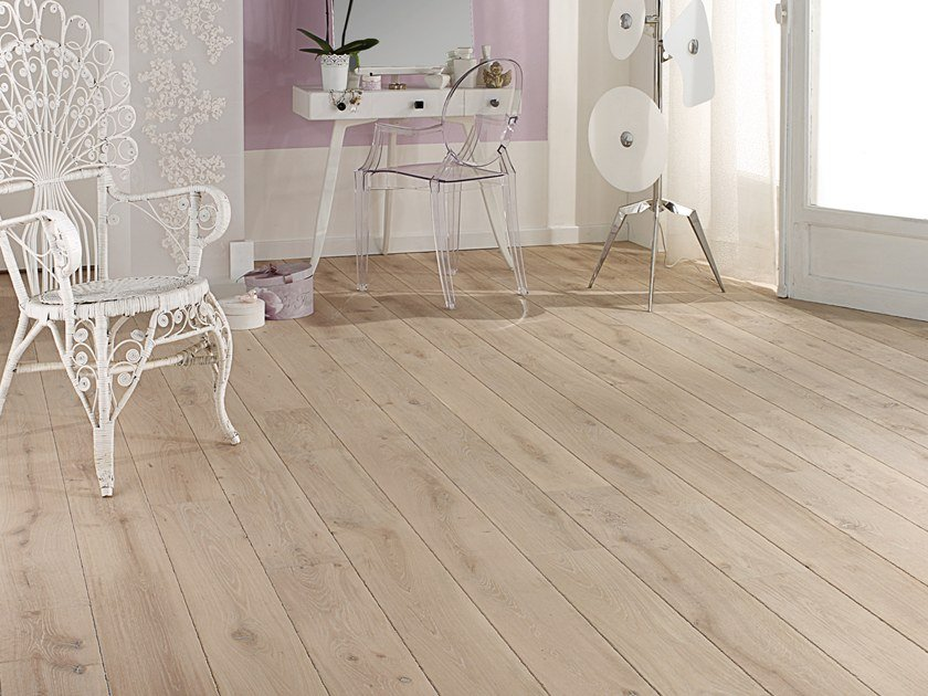 Solid wood floor FRENCH OAK ORIGINE TUFEAU SONATE 140 by PANAGET