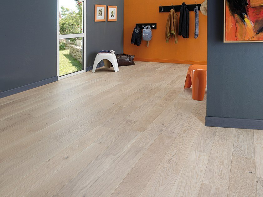 Engeneered wood floor FRENCH OAK TRADITION LINEN ALTO 139 by PANAGET