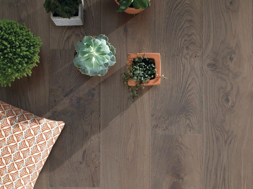 Engineered wood floor FRENCH OAK ZENITUDE ARGILE DIVA 184 by PANAGET