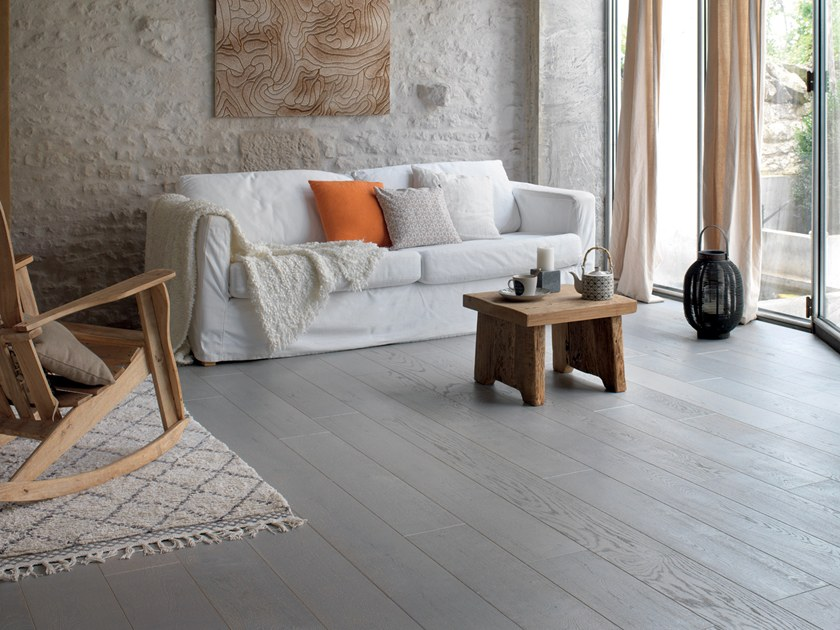 Engeneered wood floor FRENCH OAK ZENITUDE CENDRE DIVA 139 by PANAGET
