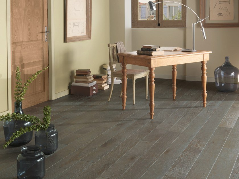 Engineered wood floor FRENCH OAK ZENITUDE DOLMEN DIVA 139 by PANAGET