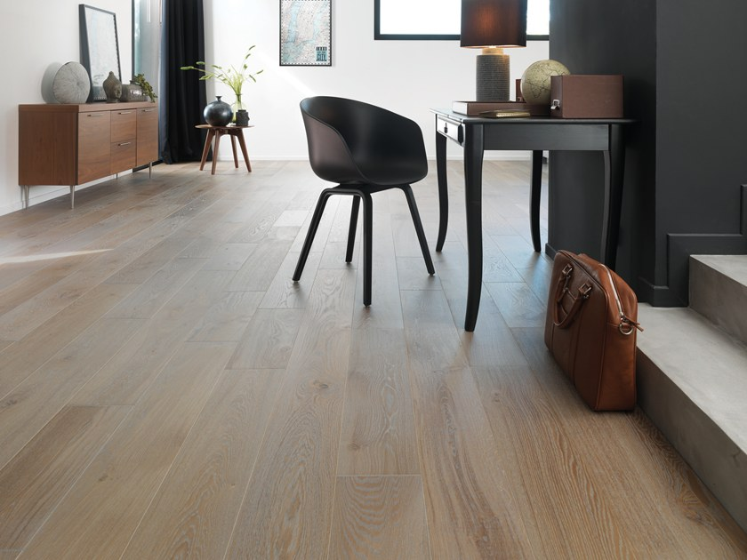 Engineered wood floor FRENCH OAK ZENITUDE FLANELLE DIVA 184 by PANAGET