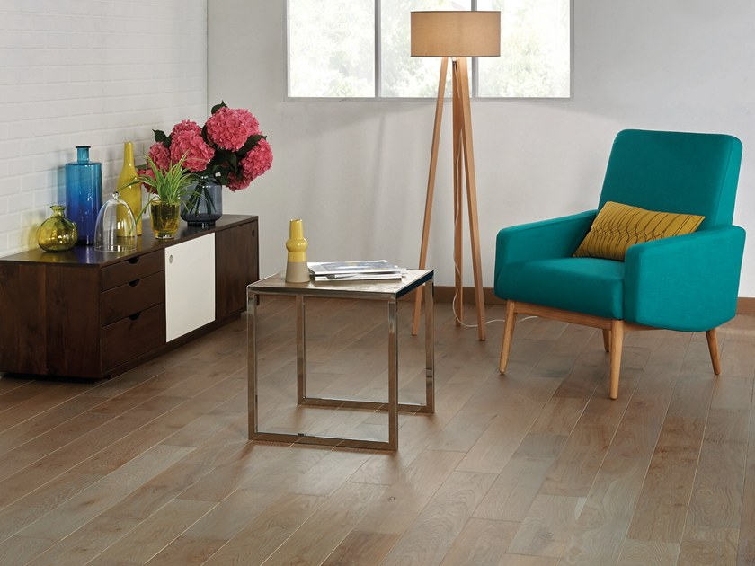 Solid wood floor FRENCH OAK ZENITUDE FLANELLE SONATE 140 by PANAGET