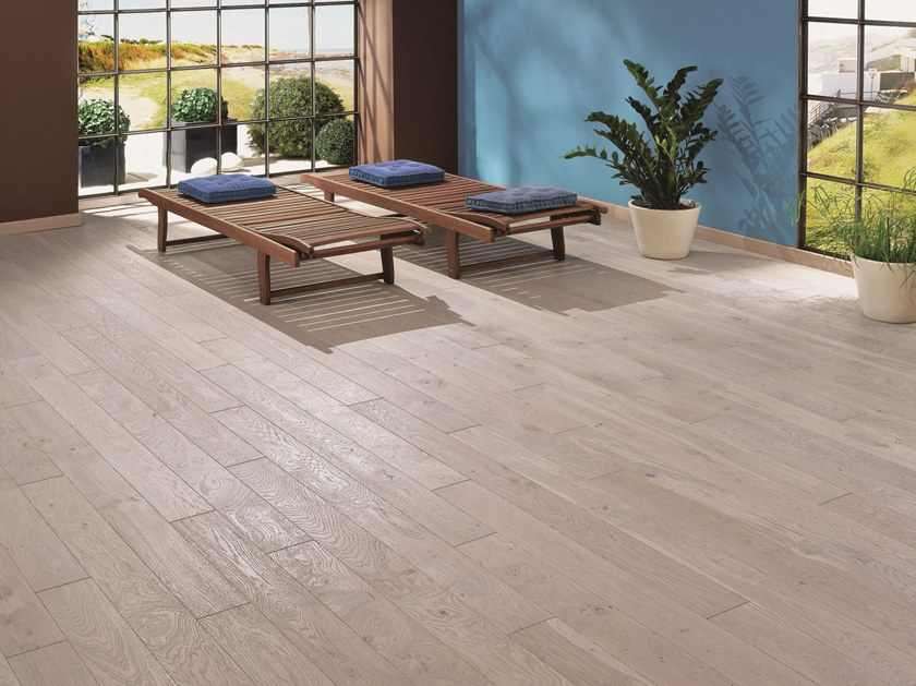 Engineered wood floor FRENCH OAK ZENITUDE GREY OIL DIVA 139 by PANAGET