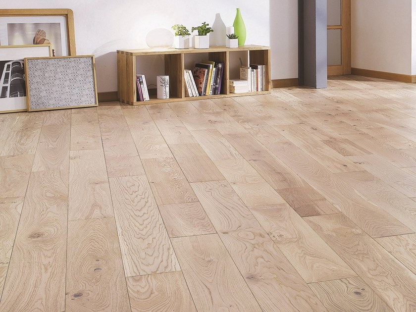 Engeneered wood floor FRENCH OAK ZENITUDE LINEN DIVA 184 by PANAGET