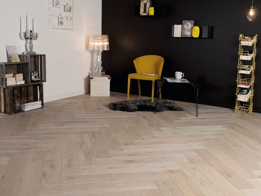 Engineered wood floor FRENCH OAK ZENITUDE TUFEAU HERRINGBONE by PANAGET