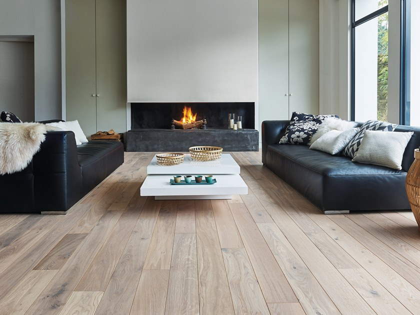 Engineered wood floor FRENCH OAK ZENITUDE WHITE OIL DIVA 139 by PANAGET