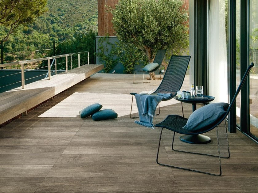 Porcelain stoneware flooring with wood effect FRENCH WOODS by Iris Ceramica