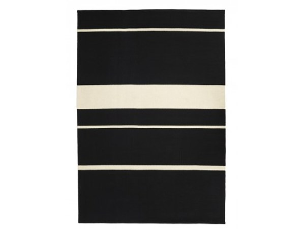 Handmade rectangular striped wool rug FRENZY by Valerie_Objects
