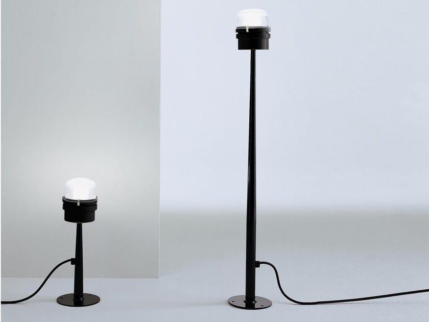 Metal Floor lamp FRESNEL - 1148 | Floor lamp by Oluce