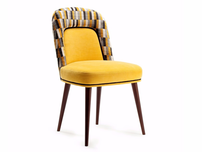 Upholstered fabric chair FRIDA | Chair by Mambo Unlimited Ideas
