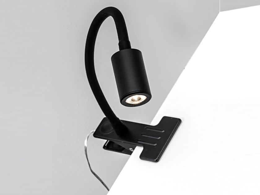 Lampada da scrivania con braccio flessibile FRINGE | Lampada da scrivania con morsetto by Rossini Illuminazione