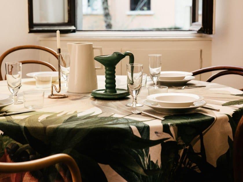 Linen tablecloth FRITILLARIA | Tablecloth by The NapKing