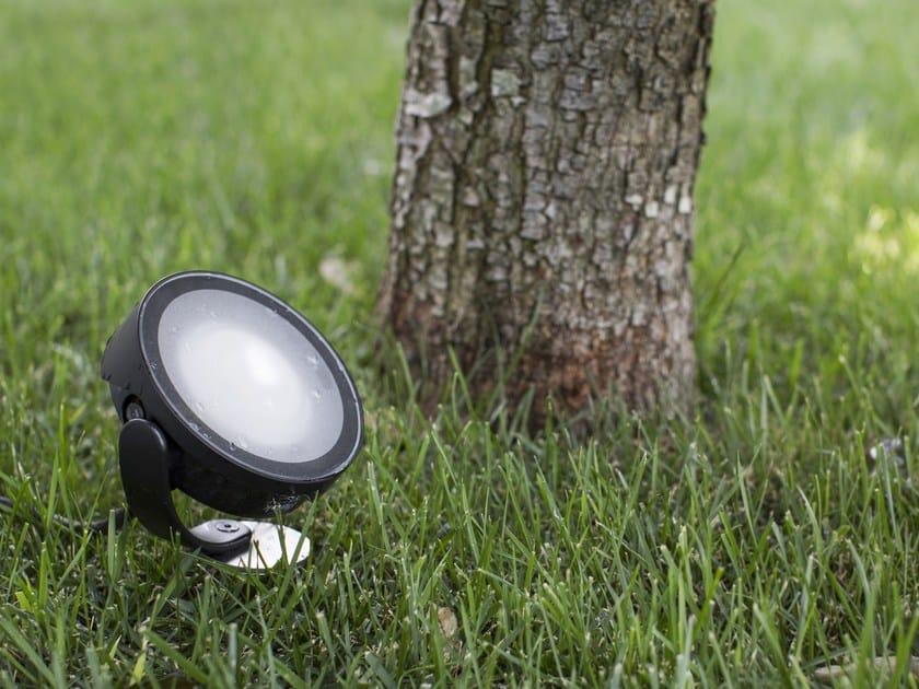FROG | Proiettore per esterno orientabile FROG proiettore, disponibile in colore bianco o nero o bronzo
