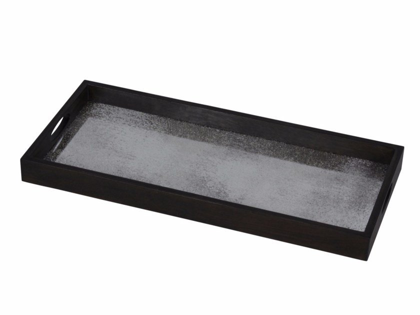 Rectangular tray FROST MIRROR by Notre Monde