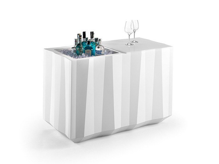 Polyethylene bar counter FROZEN CATERING COUNTER by Plust