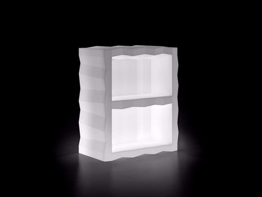 Illuminated bar counter FROZEN DISPLAY LIGHT by Plust