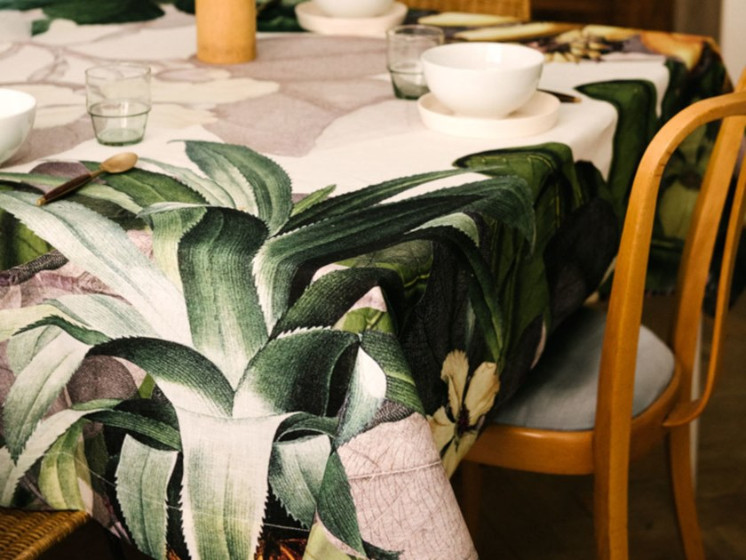 Linen tablecloth FRUCTUS | Linen tablecloth by The NapKing