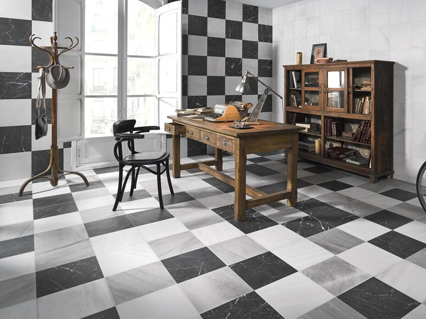 Indoor/outdoor porcelain stoneware wall/floor tiles FS OMEYA by PERONDA