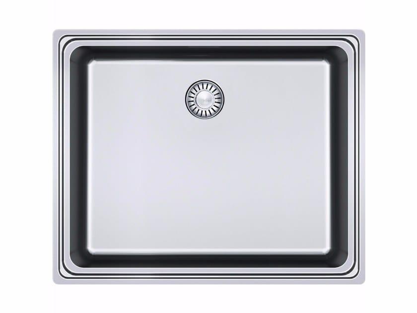 Lavello a una vasca da incasso in acciaio inox FSX 210 by FRANKE