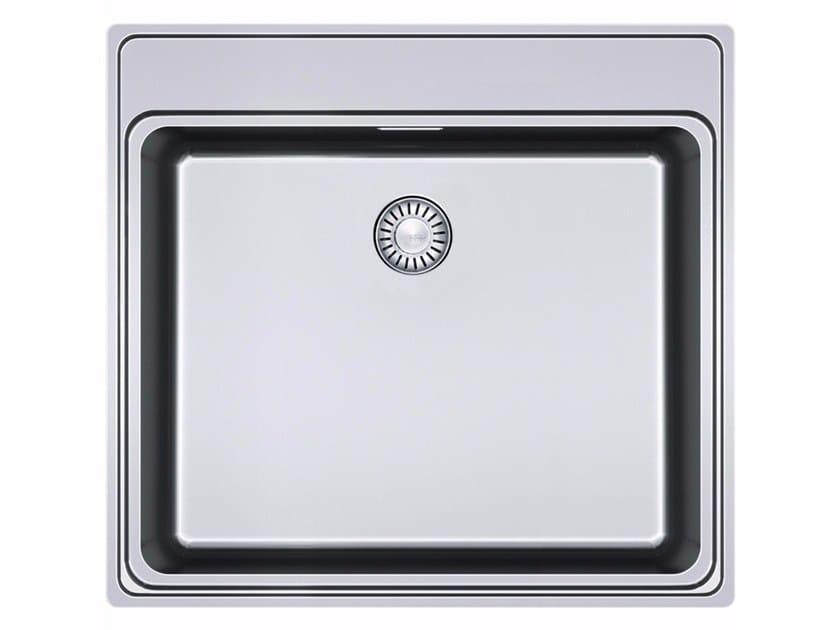 Lavello a una vasca da incasso in acciaio inox FSX 210 TPL By FRANKE