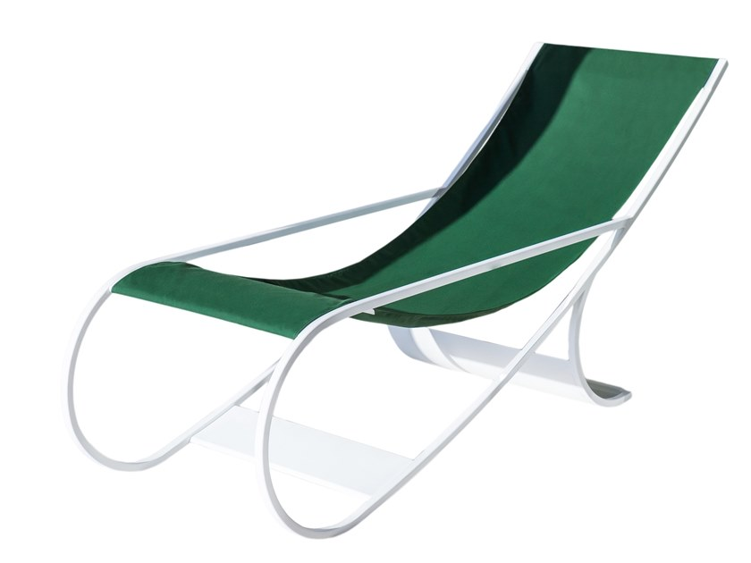 Acrylic Lounge Chair / Deck Chair FT33 By Versant Edition