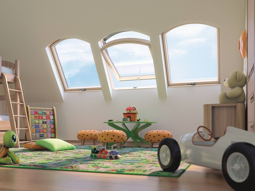 Centre-pivot roof window FTP/B Z6 by FAKRO