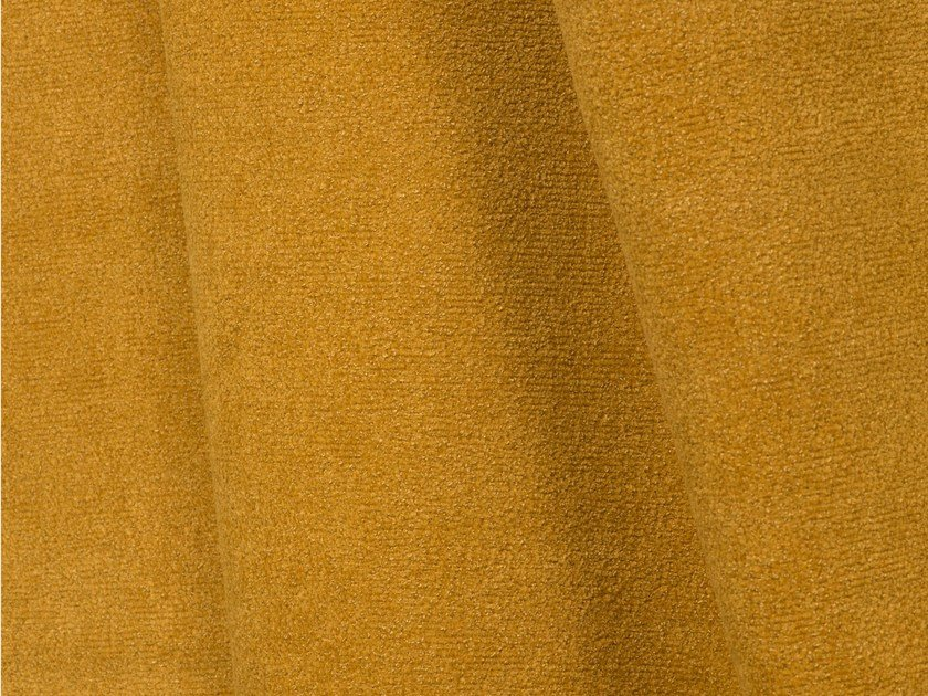 Solid-color boucle upholstery fabric FUJI by LELIEVRE