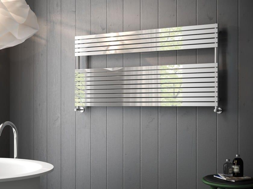 Hot-water horizontal wall-mounted decorative radiator FUJIKO by CORDIVARI