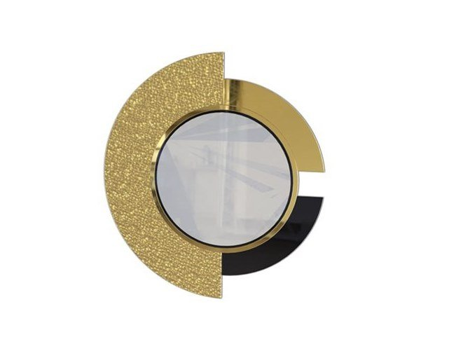 Round wall-mounted mirror FULTON | Wall-mounted mirror by Duquesa & Malvada