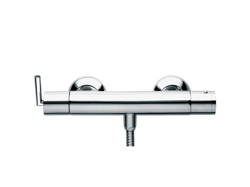 2 hole thermostatic shower mixer FUN | Thermostatic shower mixer by rvb