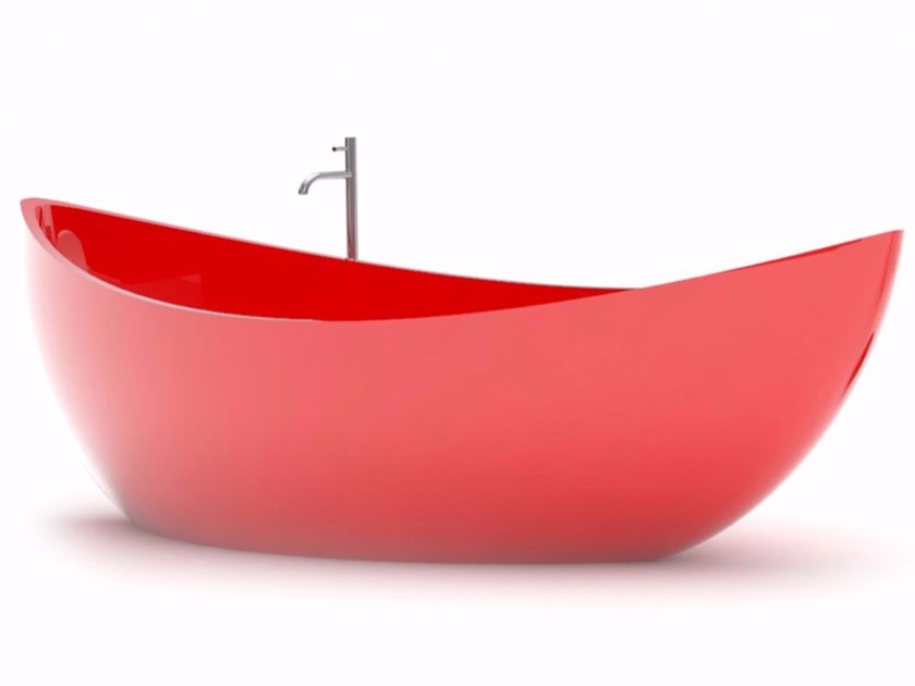 Vasca da bagno centro stanza in Adamantx® FUNAMORI by ZAD ITALY