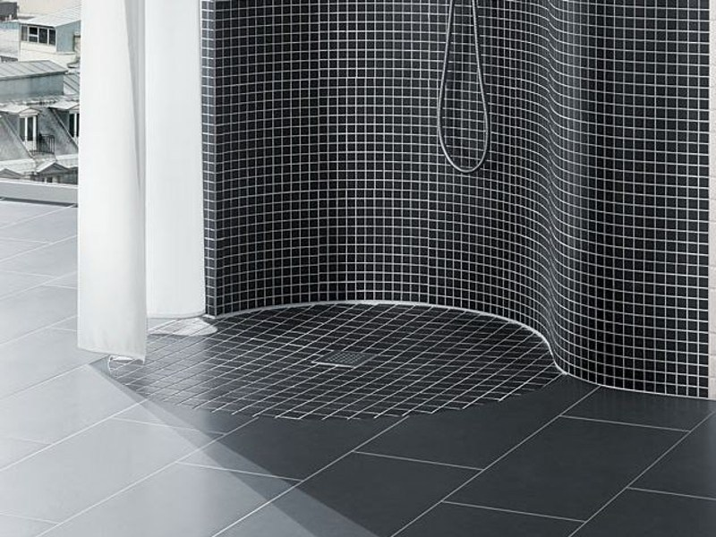 Round built-in shower tray FUNDO TROLLO | Shower tray by Wedi Italia