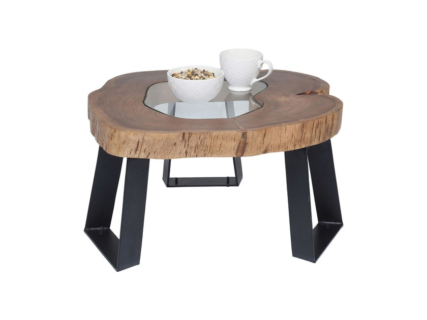 Acacia coffee table FUNDY by KARE-DESIGN