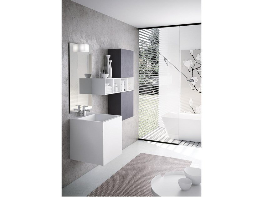 Mobile bagno lavabo funky collezione sound funky by bmt