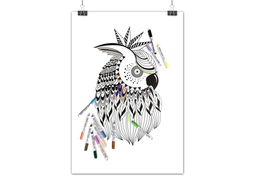 Lavagnetta magnetica FUNKY OWL by Groovy Magnets