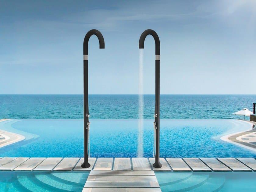 Polyethylene Outdoor Shower Funny Yin By Arkema Design