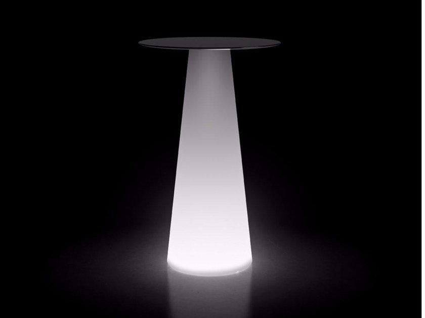Polyethylene table with light FURA TABLE | Table with light by Plust