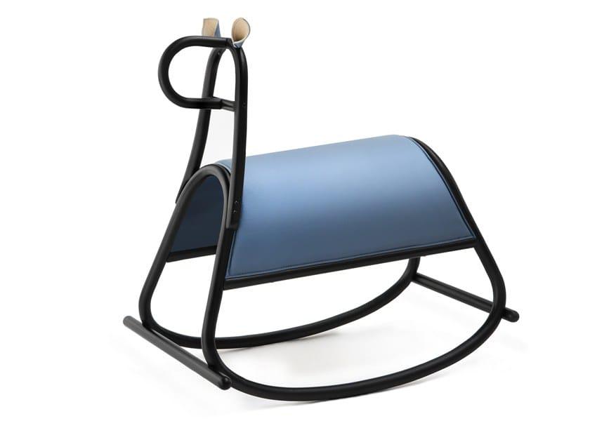 Cavallo A Dondolo Design.Cavallo A Dondolo In Faggio Furia By Wiener Gtv Design